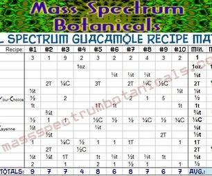 Full Spectrum Guacamole Recipe Designer Table