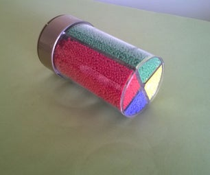 Seed Bead Storage From a Reusable Container
