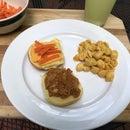 """BBQ """"Pulled Pork"""" Jackfruit in the Bread Machine!"""