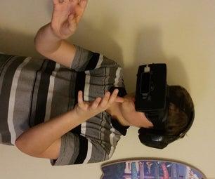 Become Tony Stark: Mobile Virtual Reality Setup With Leap Motion