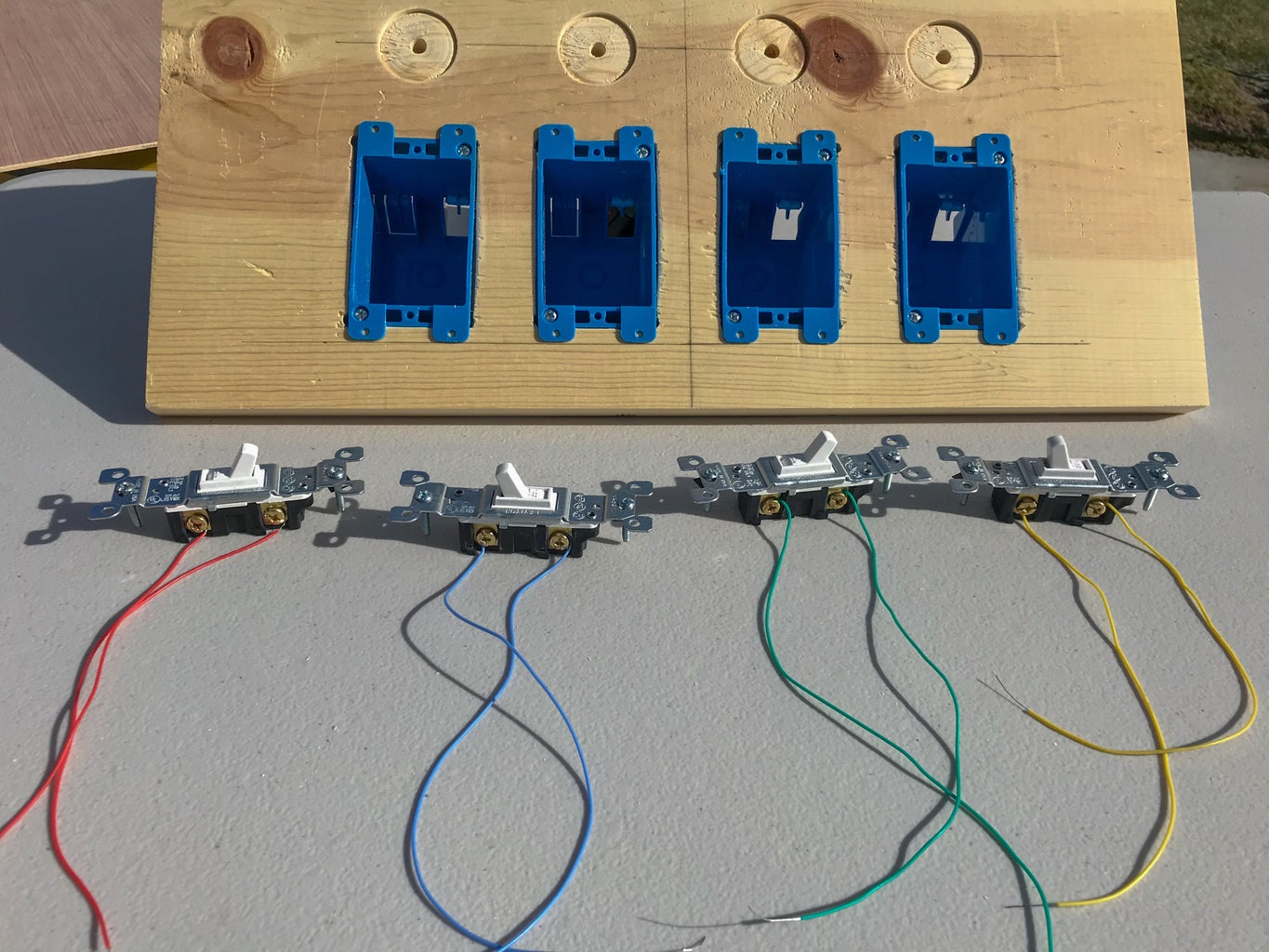 Wire the Switches