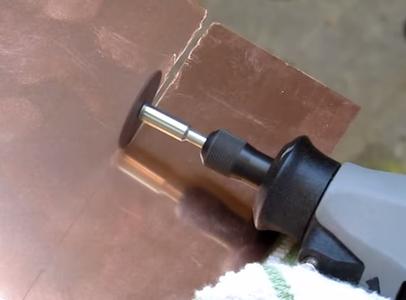 Cutting the Copper Plate