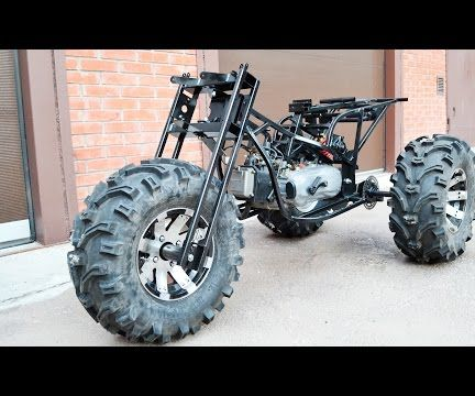 Homemade 3x3WD tricycle tires 27x12-12