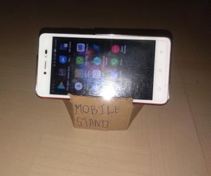 DIY Easy Mobile Stand, Very Easy!
