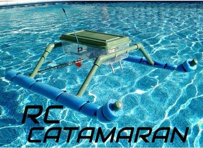 RC Catamaran Boat + VIDEO