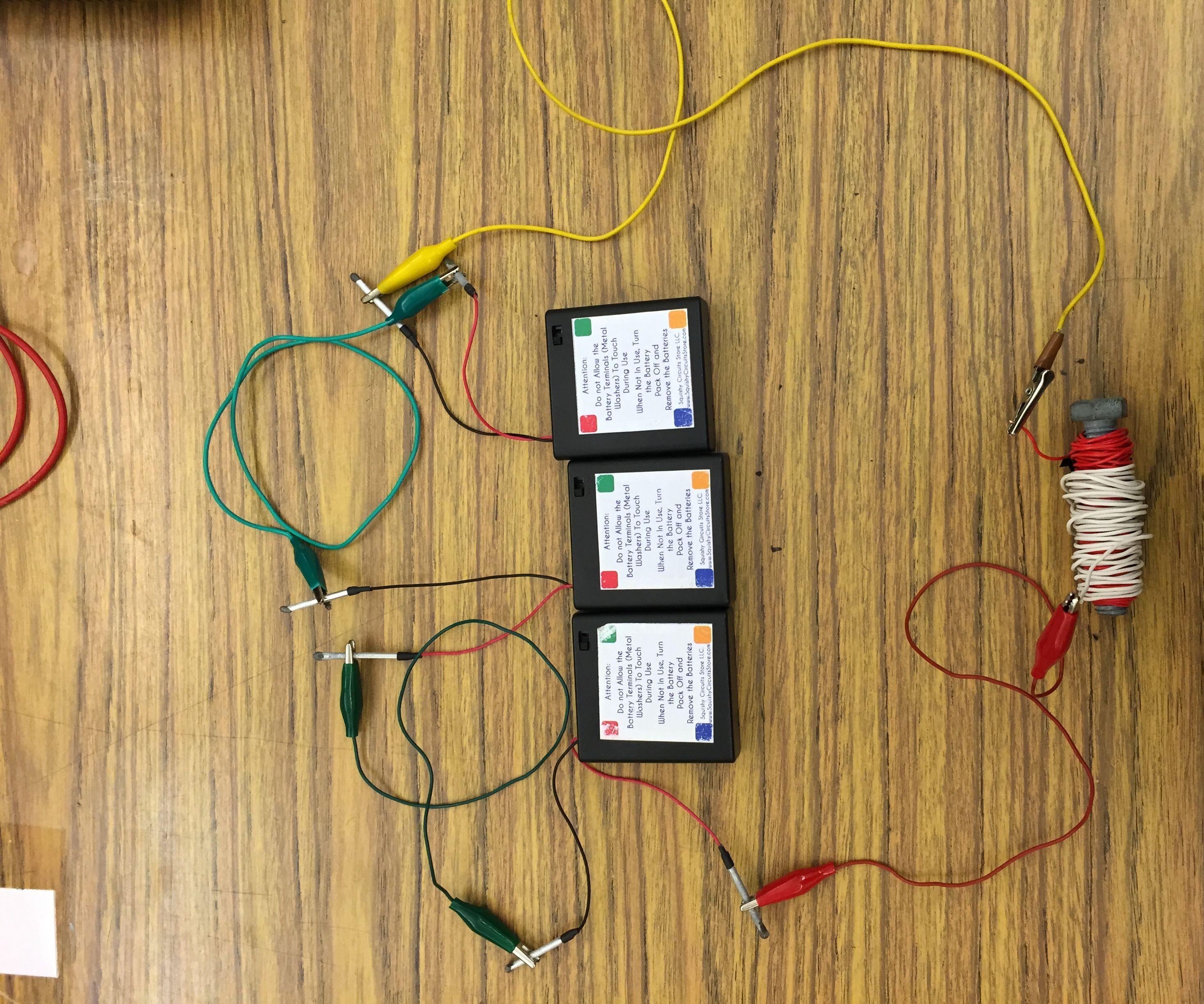 Making an ElectroMagnet