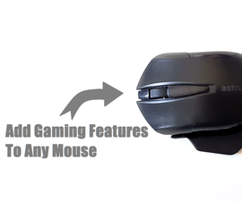 Adding Gaming Features to a Mouse