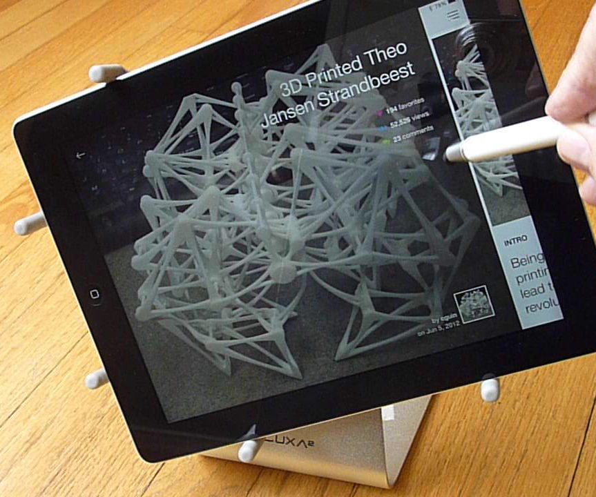 3D Printed Retrofit for a Tablet Stand
