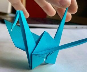 如何制作折纸起重机(带图片)