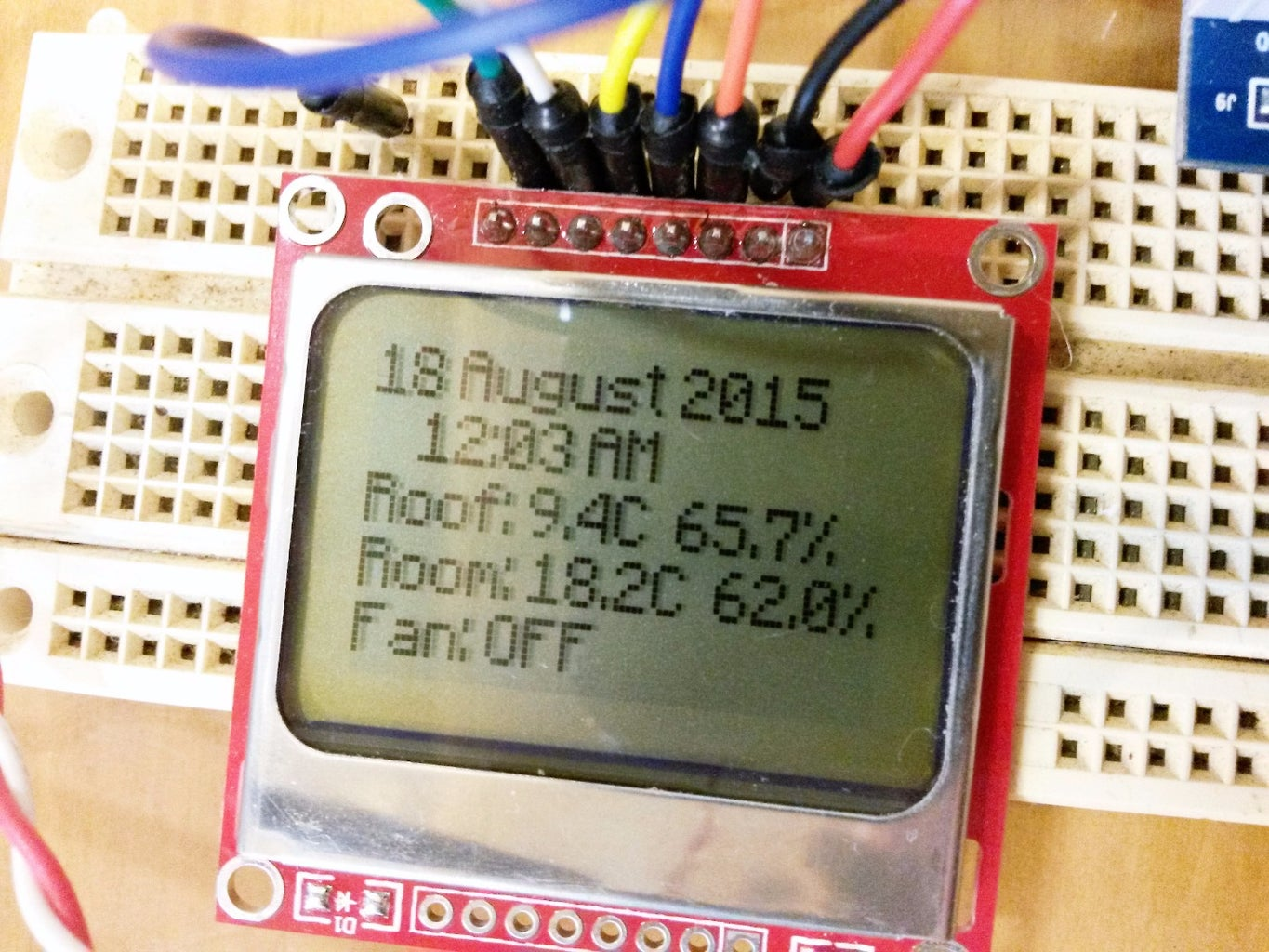 LCD Screen (Nokia 5110 With PCD8544 Controller)