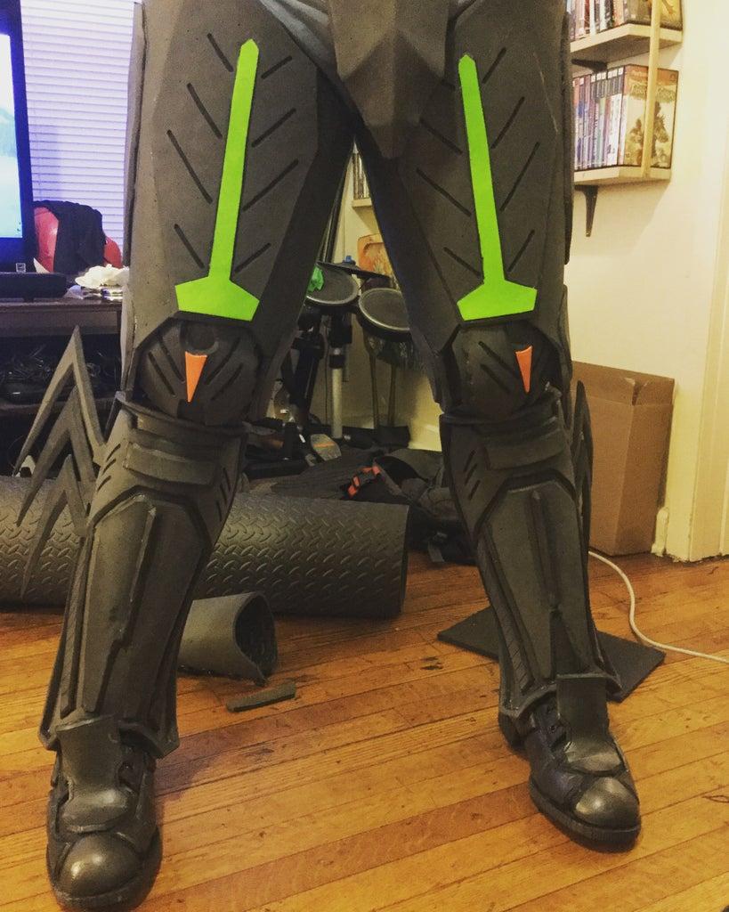 Thigh Armor
