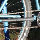 Sewn Bike Innertube Chainstay Protector