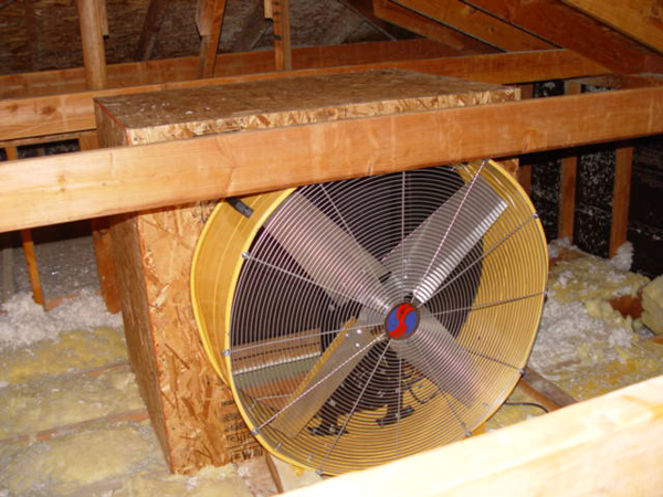 Whole house fan blows away our A/C bill.