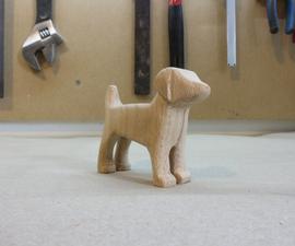 A Wooden Dog