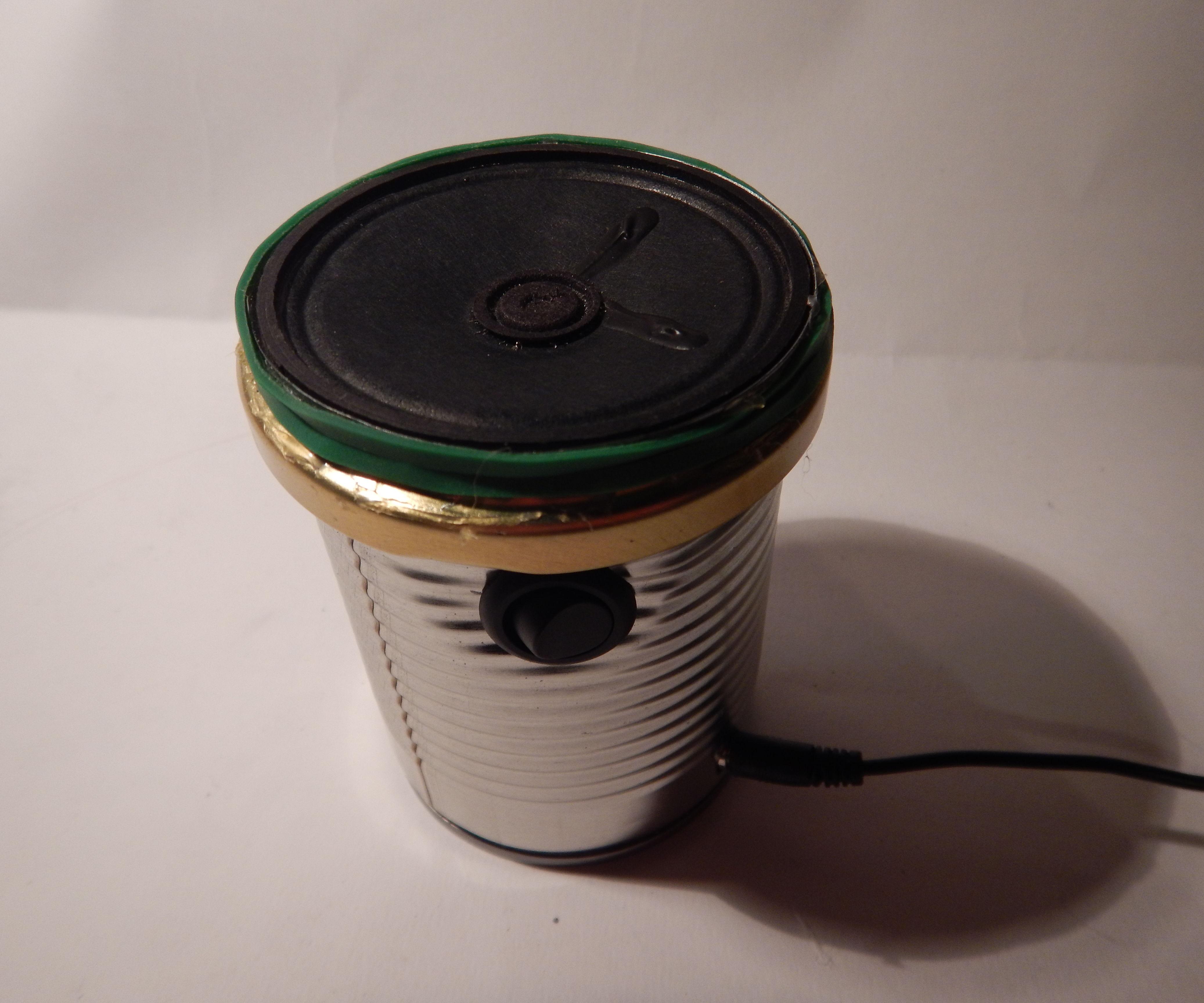 Tin Can Speaker