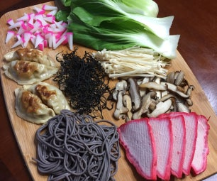 Witches Brew Noodle Soup