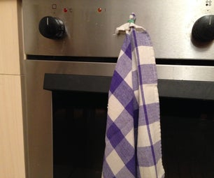 No Sew No Glue 1 Minute Magnetic Towels (with Removable Magnets)