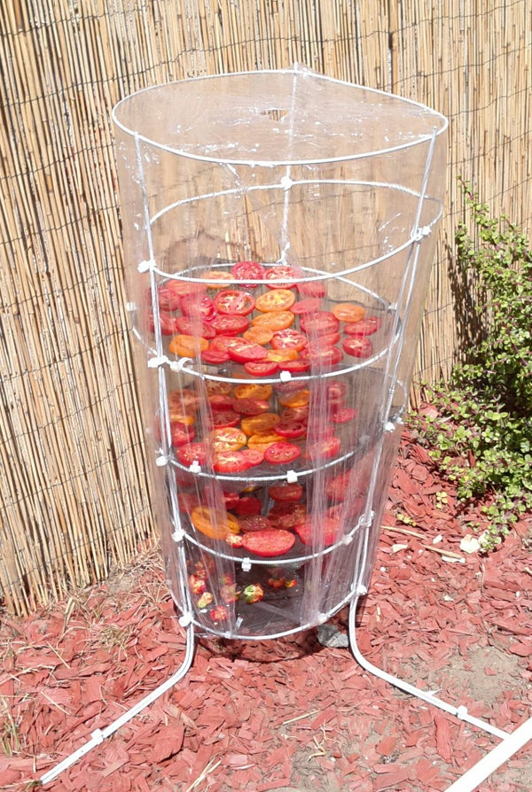 Easy Tomato Drying Rack.