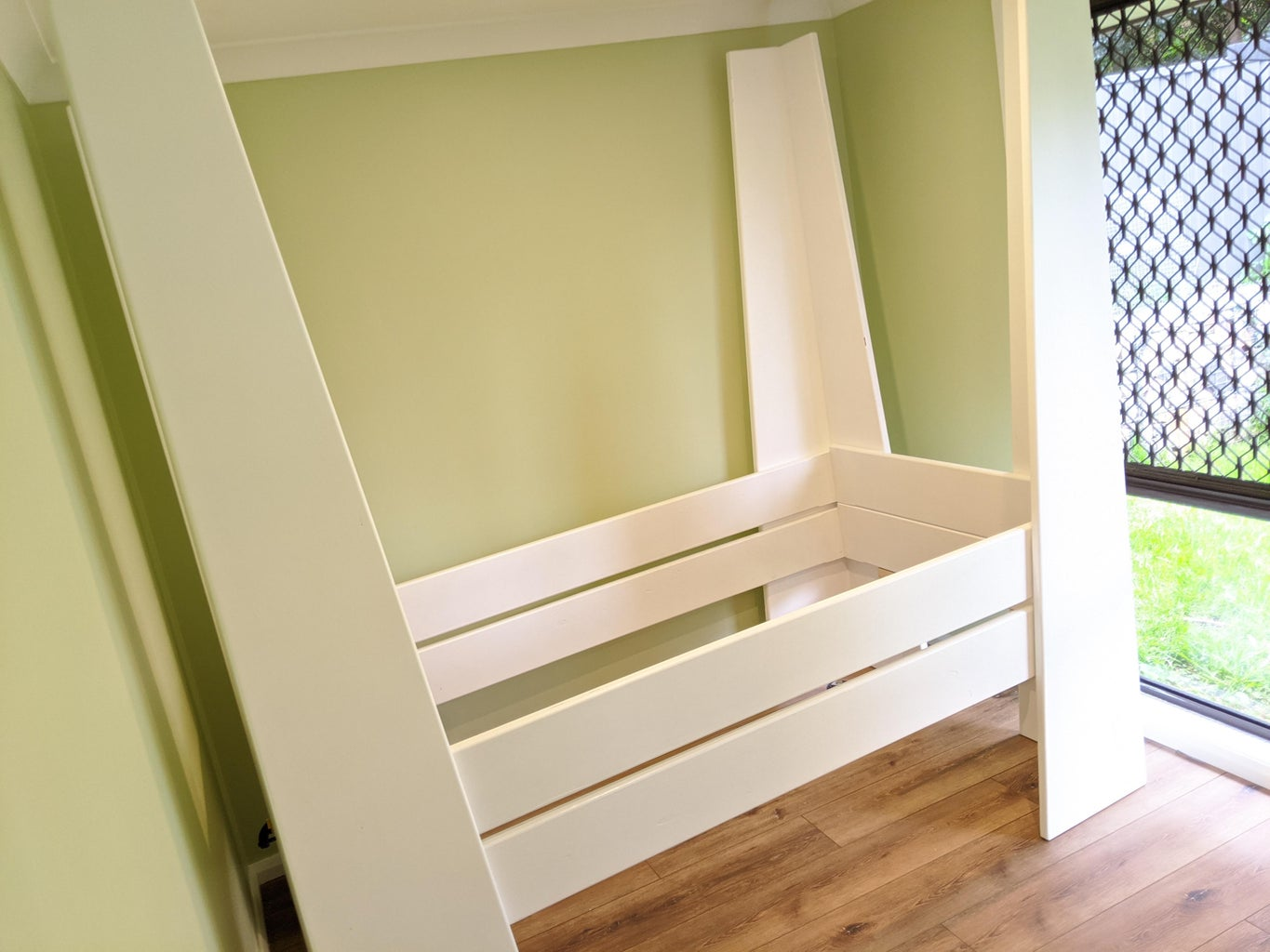 Make the Bottom and Top Bed Frames by Joining Together Your Rails and Ends