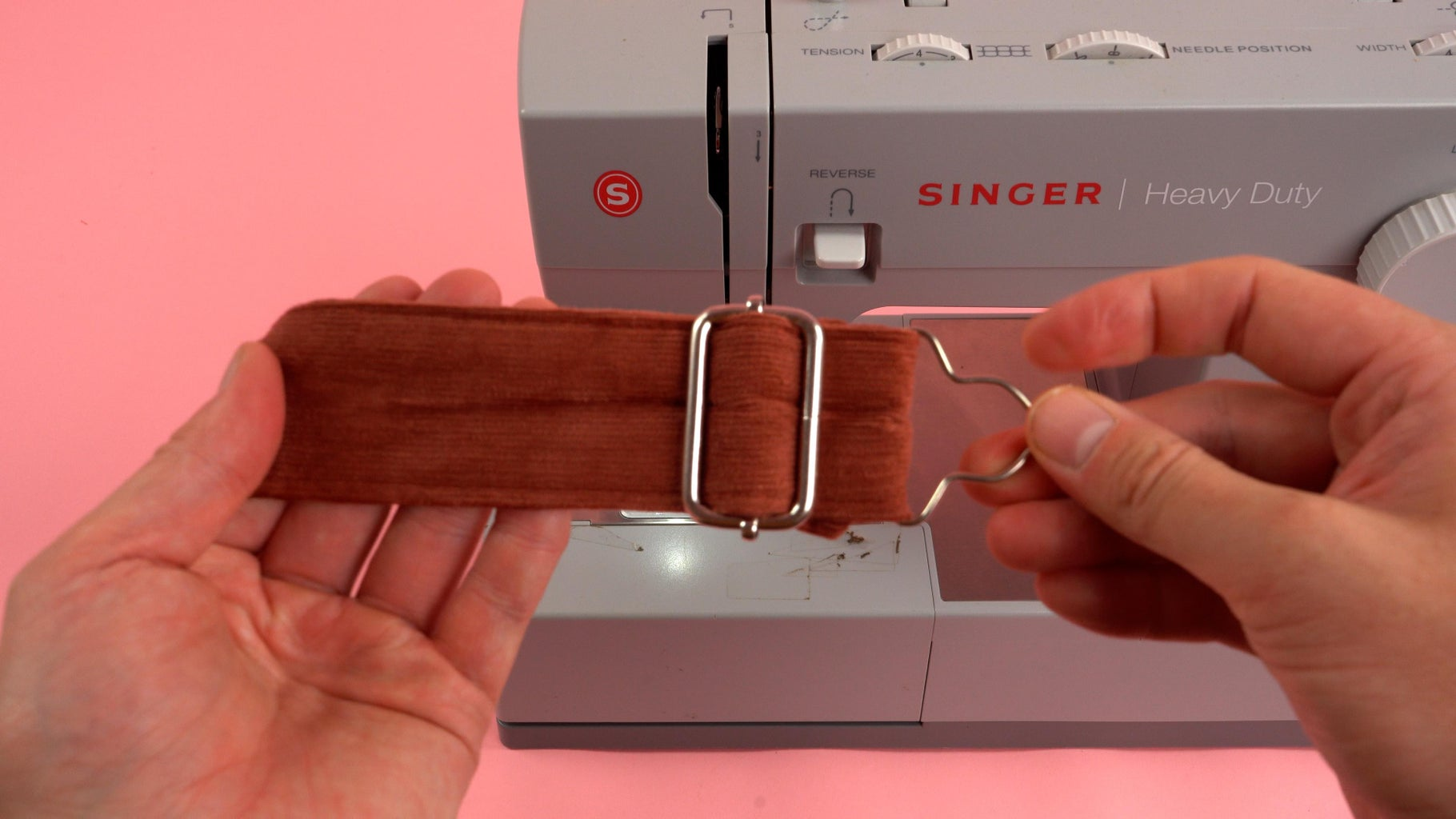 Setting Strap Buckle