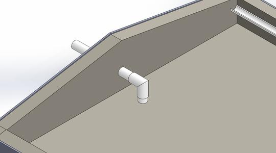 PVC Entrance Piping
