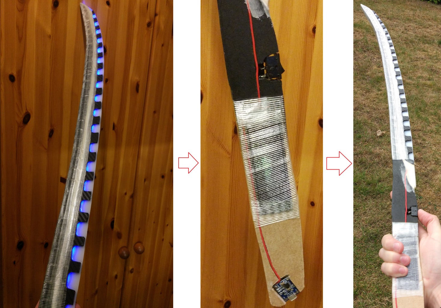 Reinforce and Protect the Blade/battery With Glass Fiber Tape