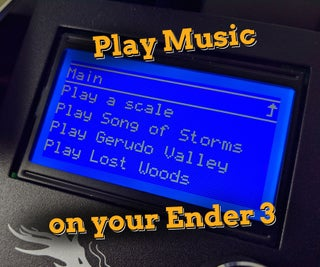Make Your 3D Printer Play Music