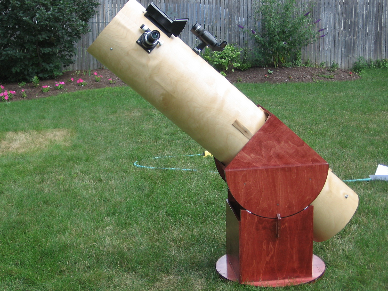 Homemade 12.5 inch Dobsonian Telescope