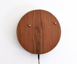 迷人的磁性挂钟