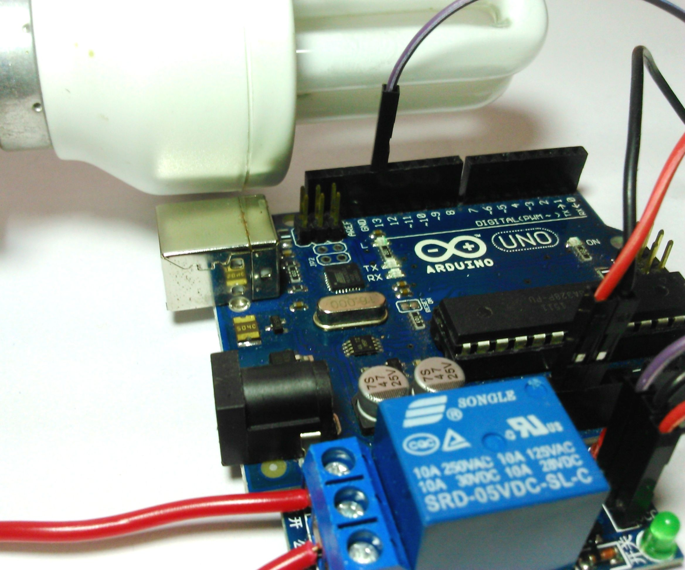 Control Your Home Appliances Using Arduino And Relay