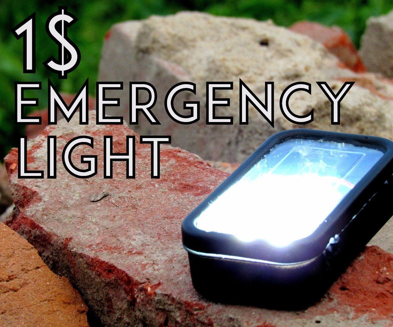 How to make a 1 $ Pocket Emergency Light