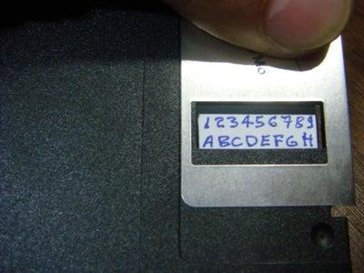 Writing the Password