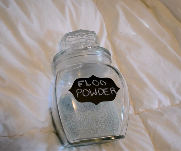 Floo Powder Harry Potter DIY | CassKnowlton