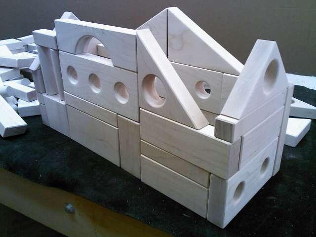 Toy Wood Blocks