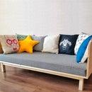 Small and Cute, HomeMade Modern DIY Sofa   Minimum Tools
