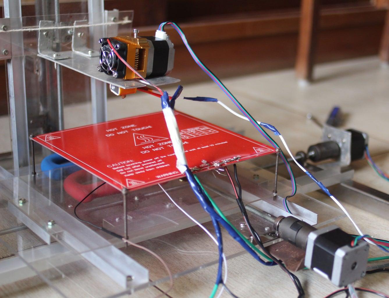 DIY High Resolution, Low Cost 3D Printer