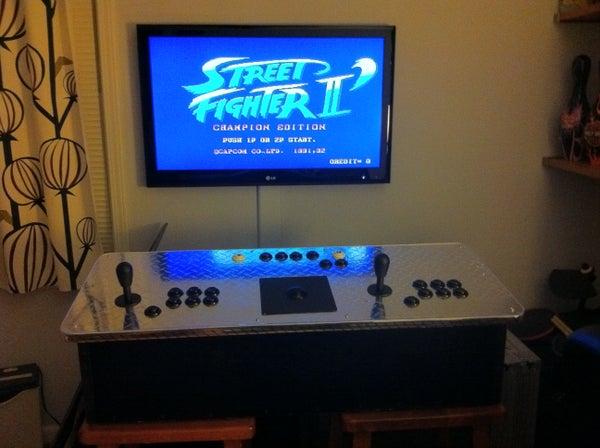 Portable Arcade Control Panel