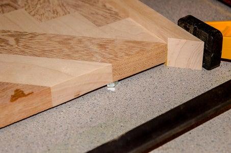 Glue Two Edge Pieces