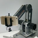 How to turn Adunio-based robot arm into a 3D printer and iphone 6s into a PTZ camara
