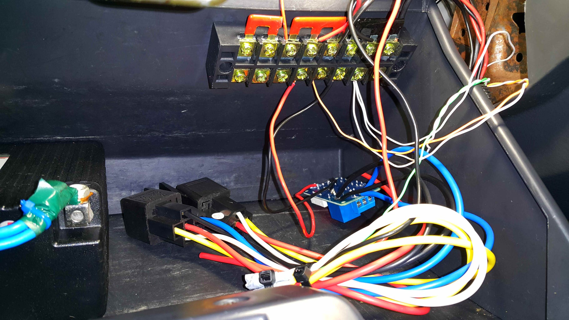 Final Wiring and Completion.