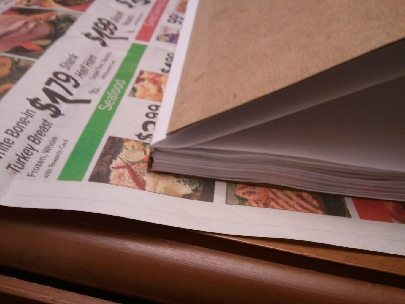 Glue the Leaf Pages to the Body