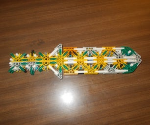 Knex Minecraft Sword. Post?
