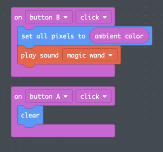 Step 5: MakeCode for Ambient Color Matching