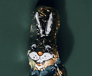 The Horrifying Chocolate Easter Bunny - a Simple Electronics Game