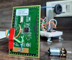 Touchpad Controlled Digital Servo Motor