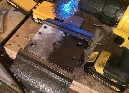 Drilling Holes and Removing Templates