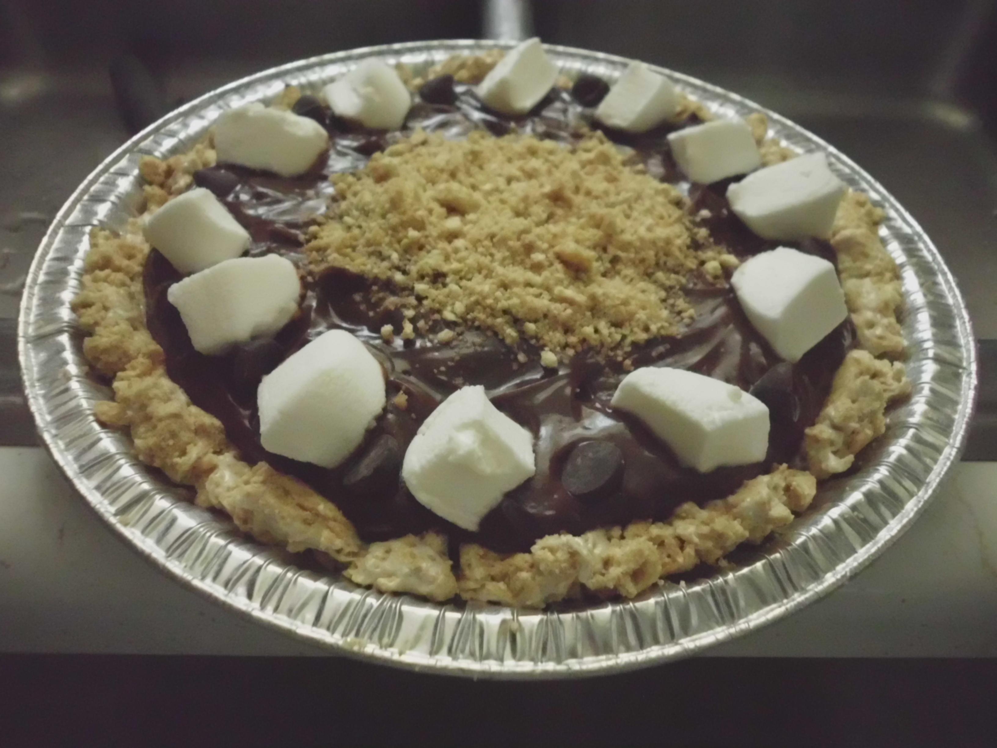 No Bake S'more Pie
