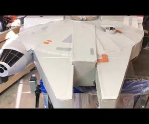 Cardboard Millenium Falcon