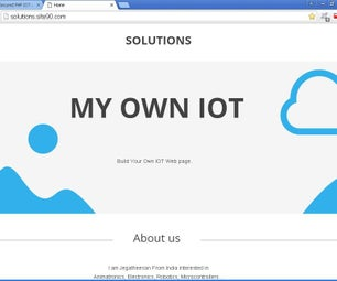 Build own Secured PHP IOT website free - Arduino