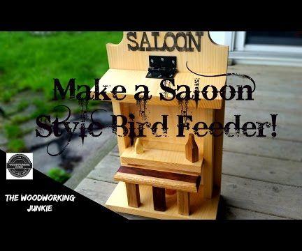 Making a Saloon Style Bird Feeder